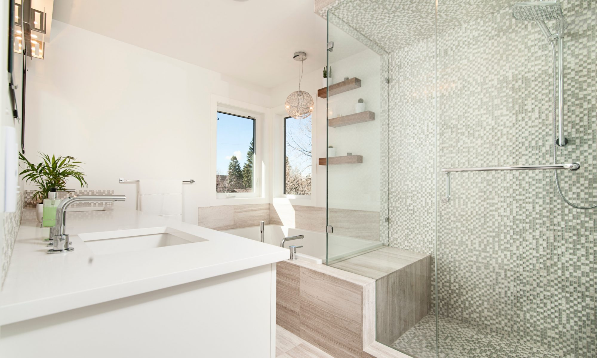 Sådan kan du ændre udseendet på badeværelset med få penge